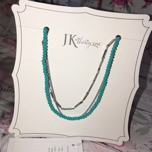 Silver Radiance Necklace NEW turquoise